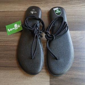 "🆕️Sanük Yoga ""Sunshine"" Knotted Thong Sandals"